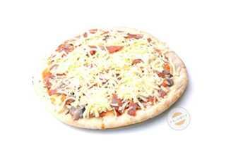 Afbeelding van Pizza van het huis